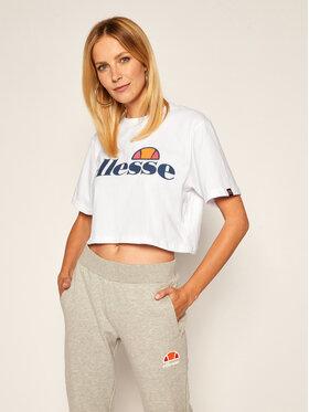 Ellesse Ellesse T-Shirt Alberta SGS04484 Weiß Cropped Fit