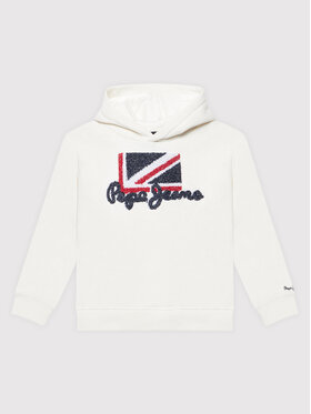 Pepe Jeans Pepe Jeans Bluza Doris PG581197 Beżowy Regular Fit