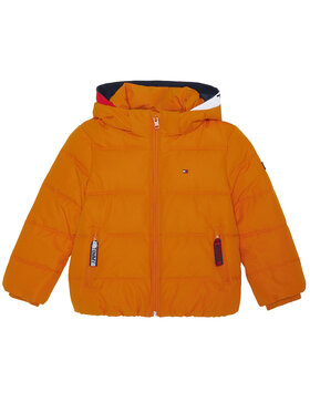 TOMMY HILFIGER TOMMY HILFIGER Pehelykabát Essential KB0KB05982 M Narancssárga Regular Fit