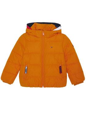 Tommy Hilfiger Tommy Hilfiger Vatovaná bunda Essential KB0KB05982 M Oranžová Regular Fit