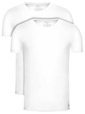 Nike Nike Комплект 2 тишъртки Crew Neck 2pk KE1010 Бял Regular Fit