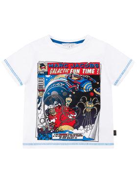 Little Marc Jacobs Little Marc Jacobs T-Shirt W25416 Biały Regular Fit