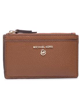 MICHAEL Michael Kors MICHAEL Michael Kors Калъф за кредитни карти Jet Set Charm 34H0GT9D6L Кафяв