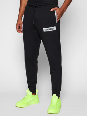 Calvin Klein Performance Calvin Klein Performance Spodnie dresowe Pw 00GMS1P636 Czarny Regular Fit