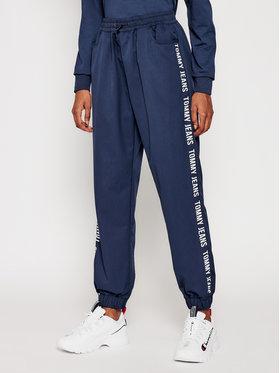 Tommy Jeans Tommy Jeans Teplákové kalhoty Jogger Tape DW0DW10141 Tmavomodrá Relaxed Fit