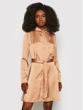 Guess Guess Sukienka koszulowa Agata W1YK0X WD8G0 Różowy Regular Fit