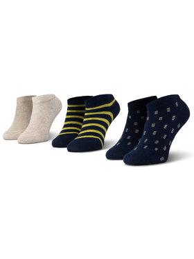 Mayoral Mayoral Vaikiškų trumpų kojinių komplektas (3 poros) 10734 Tamsiai mėlyna