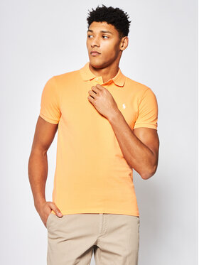 Polo Ralph Lauren Polo Ralph Lauren Pólóing Core Replen 710795080 Narancssárga Slim Fit