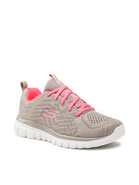 Skechers Skechers Обувки Get Connected 12615/GYCL Сив