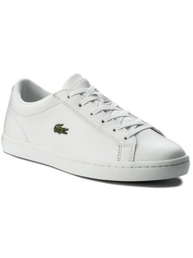 Lacoste Lacoste Сникърси Straightset Bl 1 Spw 7-32SPW0133001 Бял