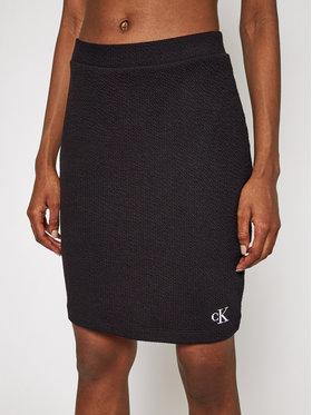 Calvin Klein Jeans Calvin Klein Jeans Ceruzaszoknya J20J215715 Fekete Slim Fit