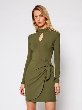 Guess Guess Φόρεμα υφασμάτινο Nurseli W1RK09 KAER2 Πράσινο Slim Fit