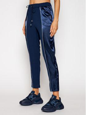 Liu Jo Sport Liu Jo Sport Kalhoty z materiálu TA1008 T8552 Tmavomodrá Regular Fit
