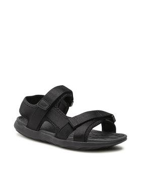4F 4F Sandály D4L21-SAD201 Černá