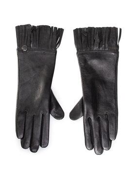 Liu Jo Liu Jo Дамски ръкавици Guanto Con Frange 2F0092 P0300 Черен