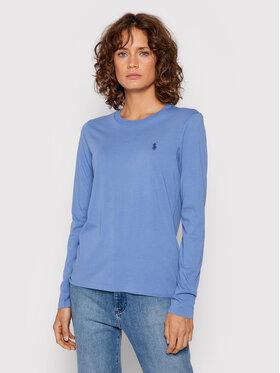 Polo Ralph Lauren Polo Ralph Lauren Bluse 211847074001 Blau Regular Fit