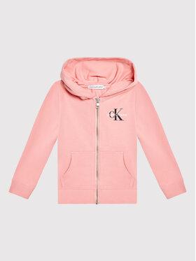 Calvin Klein Jeans Calvin Klein Jeans Bluza Monogram IU0IU00206 Różowy Regular Fit