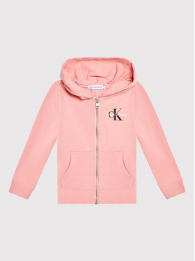 Calvin Klein Jeans Calvin Klein Jeans Pulóver Monogram IU0IU00206 Rózsaszín Regular Fit