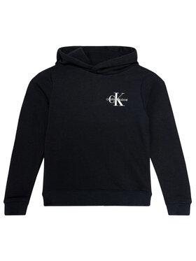 Calvin Klein Jeans Calvin Klein Jeans Μπλούζα Small Monogram Hoodie IU0IU00164 Μαύρο Regular Fit