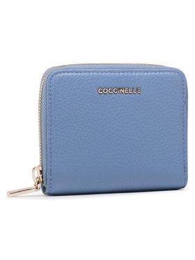 Coccinelle Coccinelle Малък дамски портфейл HW5 Mettallic Soft E2 HW5 11 A2 01 Син