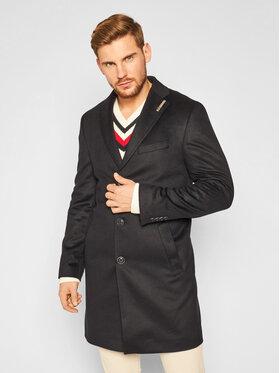 Baldessarini Baldessarini Gyapjú kabát Duncan 18654/000/8943 Sötétkék Regular Fit