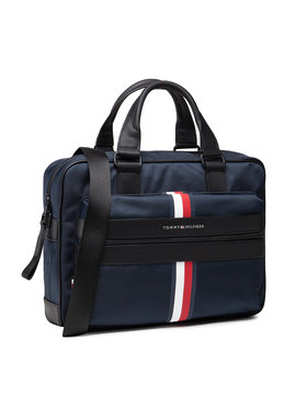 Tommy Hilfiger Tommy Hilfiger Τσάντα για laptop Elevated Nylon C Computer Bag AM0AM07589 Σκούρο μπλε