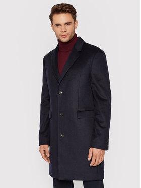 Tommy Hilfiger Tommy Hilfiger Μάλλινο παλτό MW0MW19678 Σκούρο μπλε Regular Fit