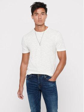 Only & Sons ONLY & SONS T-shirt Albert Life 22005108 Bež Regular Fit