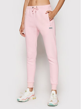 Diamante Wear Diamante Wear Παντελόνι φόρμας Unisex Crew 5451 Ροζ Regular Fit