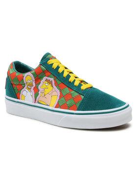Vans Vans Πάνινα παπούτσια Old Skool VN0A4BV521M1M Πράσινο