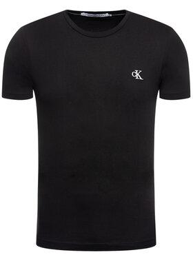 Calvin Klein Jeans Calvin Klein Jeans T-Shirt Tee Shirt Essential J30J314544 Černá Slim Fit