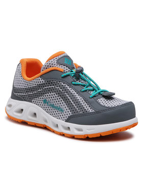 Columbia Columbia Trekingová obuv Youth Drainmaker IV BY1091 Šedá