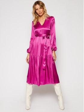 Pinko Pinko Každodenní šaty Love Boat AI 2021 PRR 1N133S 7876 Fialová Regular Fit