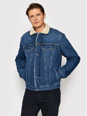 Pepe Jeans Pepe Jeans Farmer kabát Pinner Dlx PM401281 Kék Regular Fit