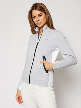 Lacoste Lacoste Bluza SF2607 Szary Regular Fit