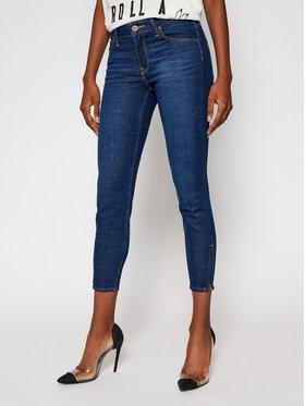 Lee Lee Jeansy Skinny Fit Scarlett Cropped L30CPQAN Granatowy Skinny Fit
