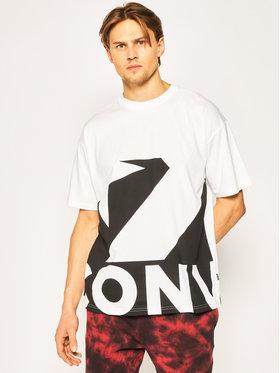Converse Converse T-Shirt Star Chevron Icon remix 10018381-A01 Biały Regular Fit