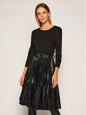 Marella Marella Každodenné šaty Ironia 36260707 Čierna Regular Fit