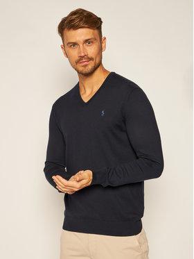 Polo Ralph Lauren Polo Ralph Lauren Sweater Ls Sf Vn Pp 710670789004 Sötétkék Slim Fit