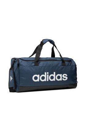 adidas adidas Táska Linear Duffel M GN2039 Sötétkék