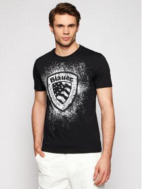 Blauer Blauer T-shirt Shield 21SBLUH02134 004547 Nero Regular Fit