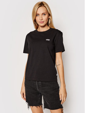 Vans Vans T-shirt Junior V Boxy VN0A4MFL Noir Regular Fit