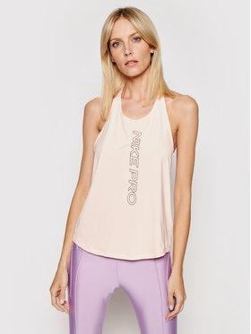 Nike Nike Marškinėliai Pro CJ3934 Rožinė Regular Fit