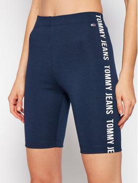 Tommy Jeans Tommy Jeans Pantaloni scurți sport Tjw Branded Bike DW0DW09756 Bleumarin Slim Fit
