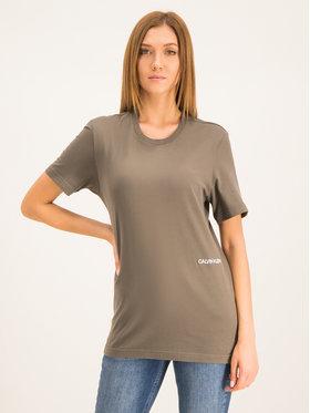 Calvin Klein Underwear Calvin Klein Underwear Σετ 2 T-Shirts Statement1981 000QS6198E Έγχρωμο Regular Fit