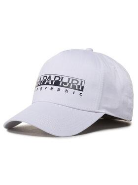 Napapijri Napapijri Καπέλο Jockey Framing 1 NP0A4E Λευκό