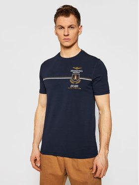 Aeronautica Militare Aeronautica Militare T-shirt 211TS1859J469 Bleu marine Regular Fit