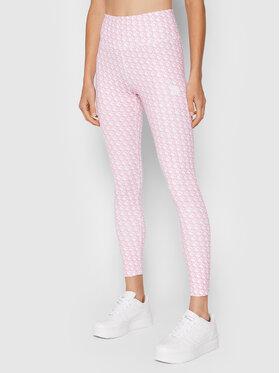 Guess Guess Легінси Caitlin O1BA24 MC03W Рожевий Slim Fit