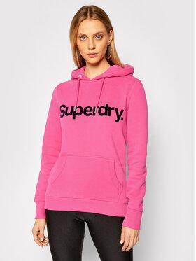 Superdry Superdry Μπλούζα Flock W2010381A Ροζ Regular Fit