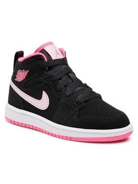Nike Nike Batai Jordan 1 Mid (Ps) 640737 066 Juoda